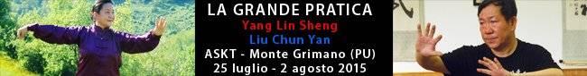 ASKT - Stage Maestri Yang Lin Sheng e Liu Chun Yan - Monte Grimano (PU)