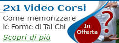 Tai Chi - Video corso in offerta